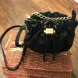 Badgley Mischa Black Leather Crossbody